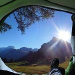 テントからの景色