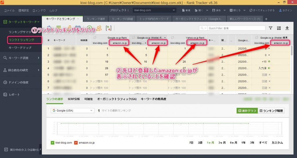 Rank Tracker_ドメインの競合他社-14